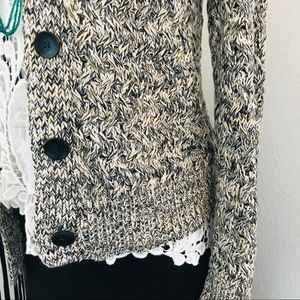 Sweaters - Slouchy Neutral Knit Cardigan